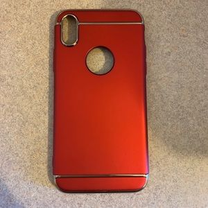 iPhone XS phone case - red